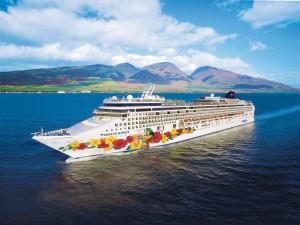"""Postal: Barco crucero """"Orgullo de Hawaii"""""""