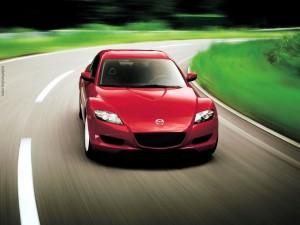 Mazda rojo