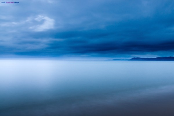 Neblina azul