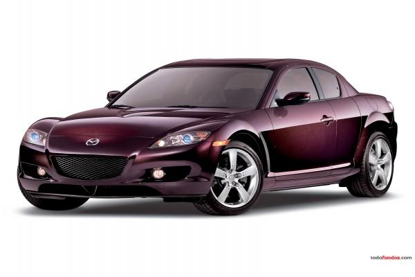 Mazda color burdeos