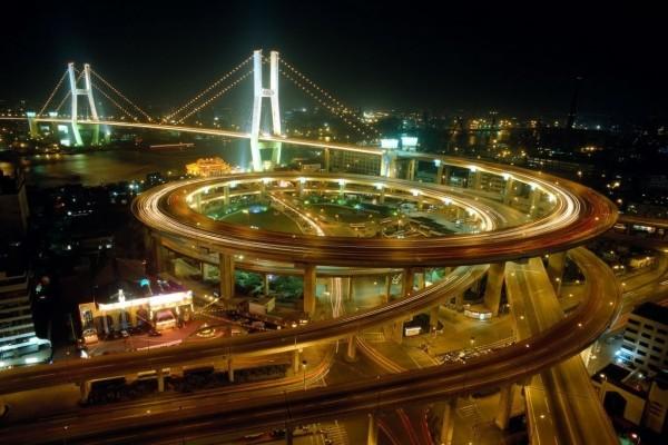Carretera en espiral