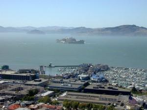 Postal: Isla de Alcatraz