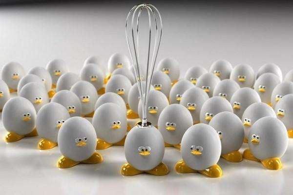 El terror de los huevos