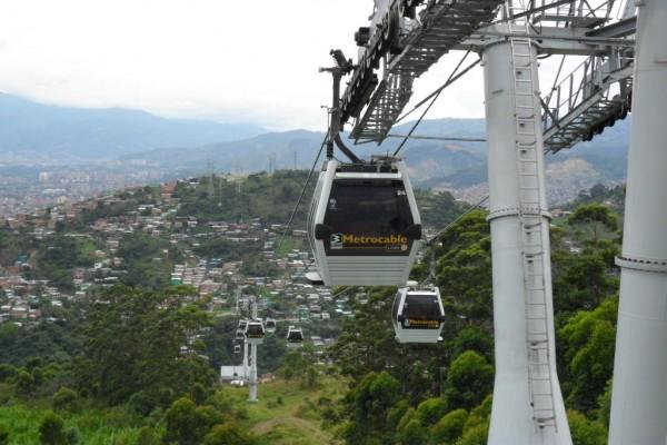 Teleférico de Metrocable (Medellín, Colombia)