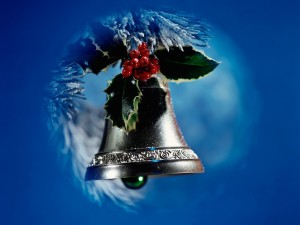 Postal: Campanita navideña