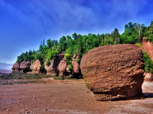 Extrañas formaciones rocosas