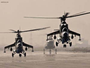 Helicópteros Mil Mi-24