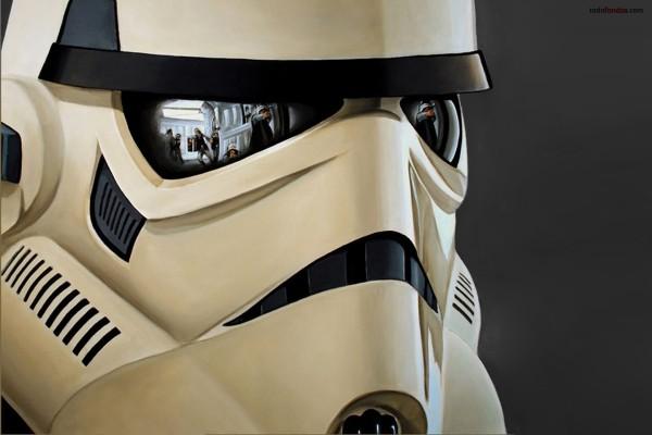 Máscara de Soldado Imperial (Star Wars)