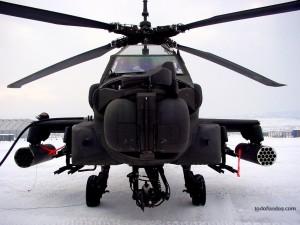 Postal: Helicóptero de guerra