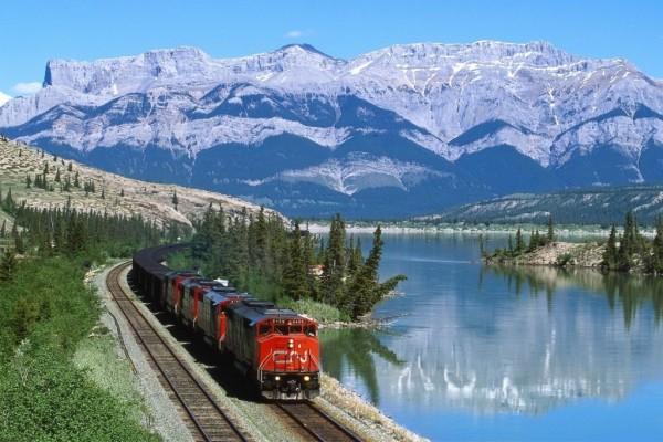 Un hermoso viaje en tren