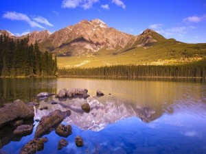 Reflejo de montaña