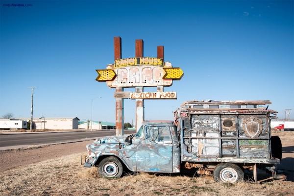 Vieja camioneta