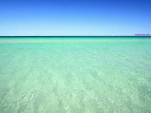 El agua del mar
