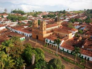 Postal: Barichara, municipio de Santander (Colombia)