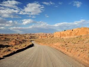 Postal: Carretera de tierra
