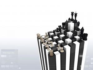 Tablero de ajedrez 3D