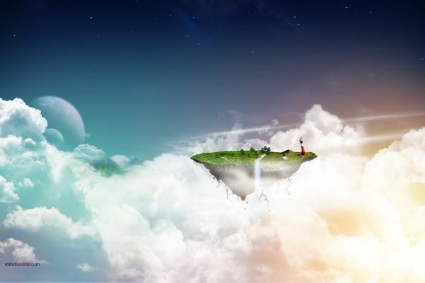 Un pequeño mundo en las nubes
