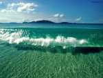 Agua clara como el cristal