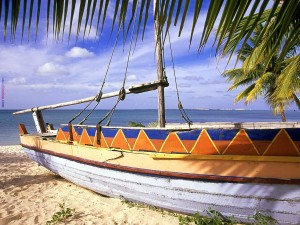 Postal: Barca de pesca