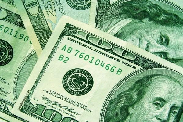 Billetes de 100 dólares americanos