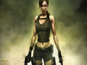 Una chica bien armada