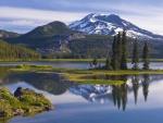 Lago en las alturas