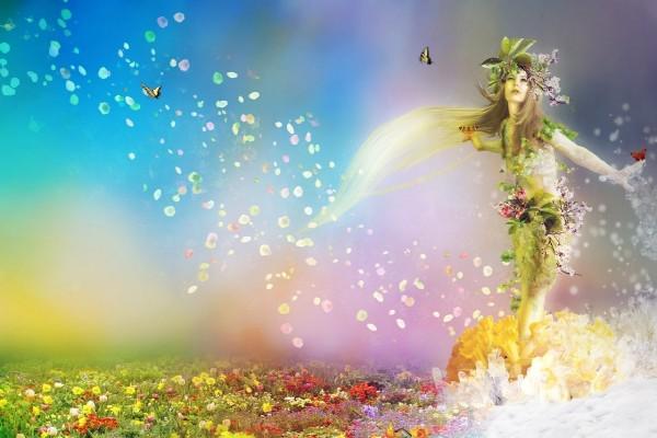 Diosa de la primavera