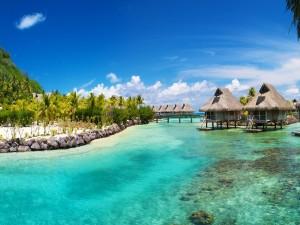 Postal: Vacaciones en Bora Bora