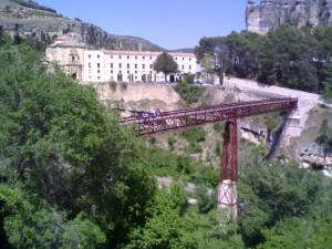 Postal: Puente de San Pablo, en Cuenca (España)