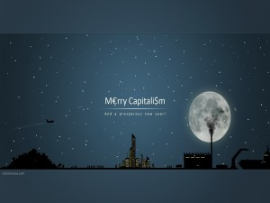 Postal: ¡Feliz capitalismo!