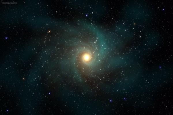 Una lejana galaxia espiral