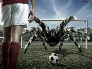Este portero... es una araña
