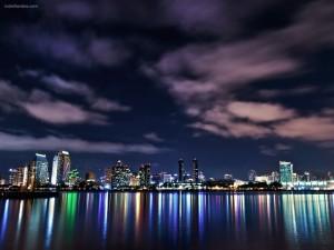Reflejos y colores de la ciudad