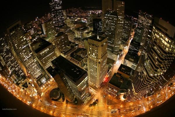 Una visión esférica de la ciudad