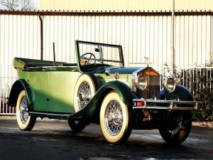 Rolls-Royce Phantom Cabriolet Hunting