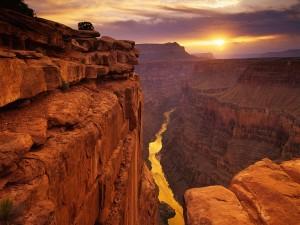 Una vista impresionante del Gran Cañón