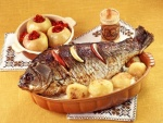 Pescado al horno con papas