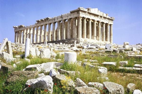 Ruinas del Partenón (Atenas, Grecia)