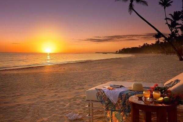 Relax en una playa paradisíaca