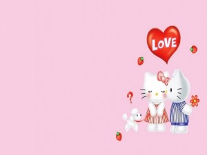El amor de Hello Kitty