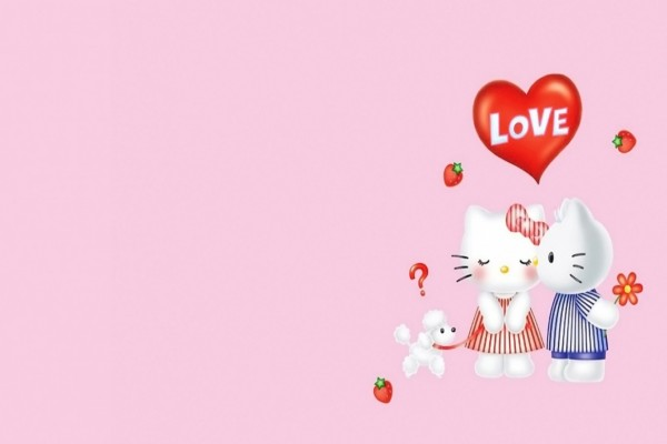 El amor de Hello Kitty