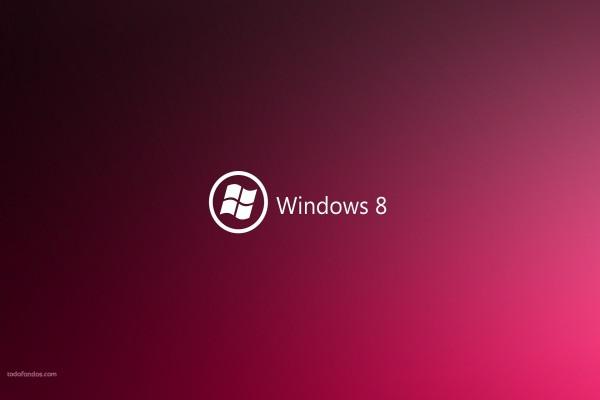 Windows 8 en magenta