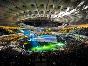 Postal: Estadio de fútbol Arena Lviv (Eurocopa 2012)
