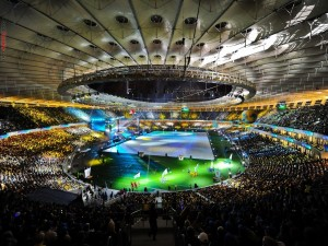 Estadio de fútbol Arena Lviv (Eurocopa 2012)