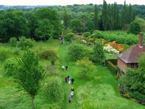 Jardines del Castillo de Sissinghurst (Kent, Inglaterra)
