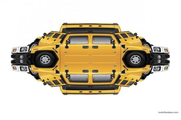 Reflejos del Hummer H2