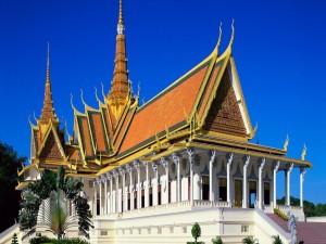 Palacio Real de Phnom Penh (Camboya)