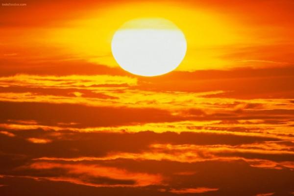 El Sol, una esfera de fuego en el cielo
