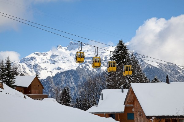 Teleféricos amarillos (Suiza)