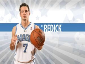 Postal: J.J. Redick (jugador de los Orlando Magic)